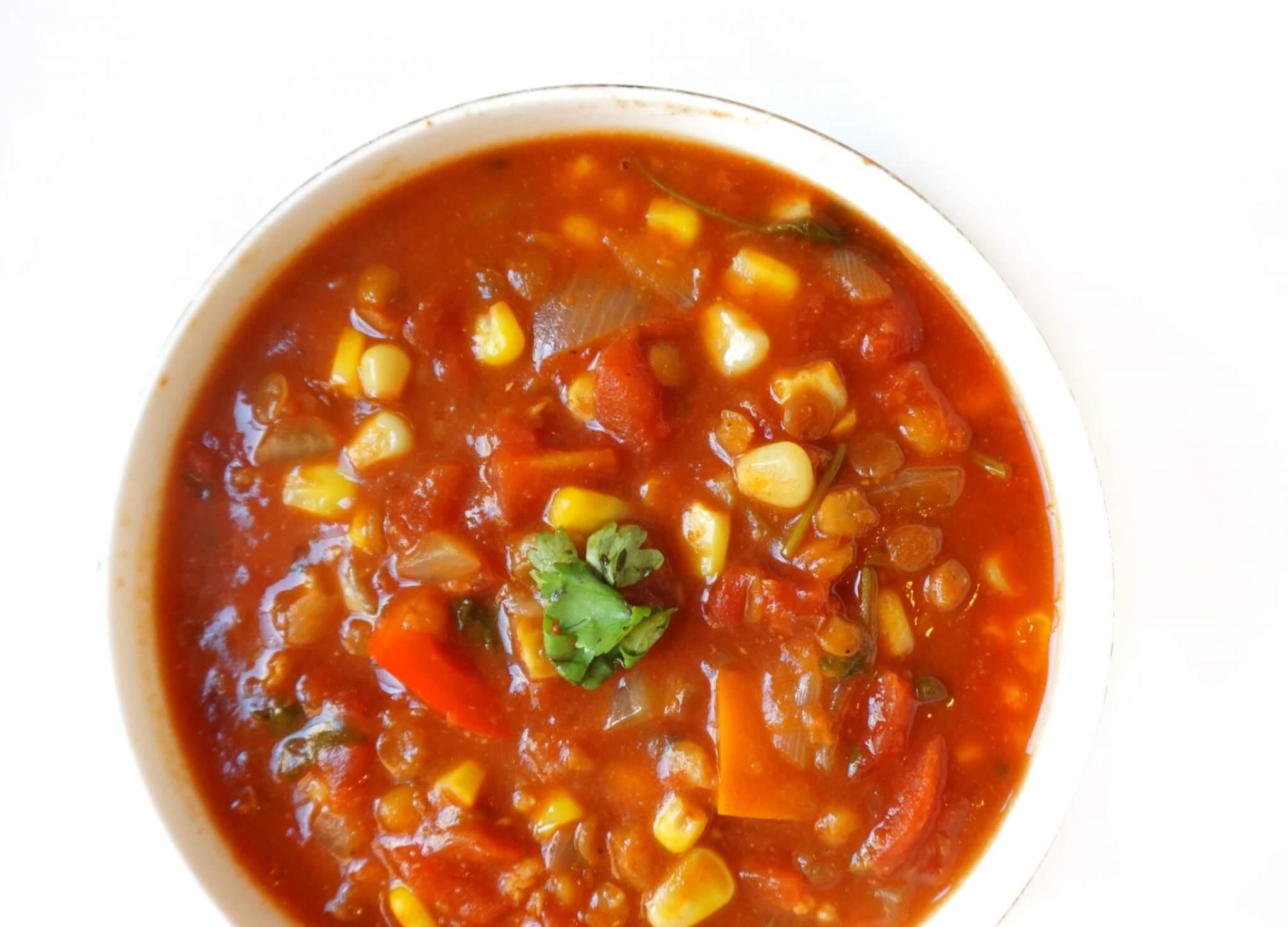 Vegan One Pot Lentil Chili