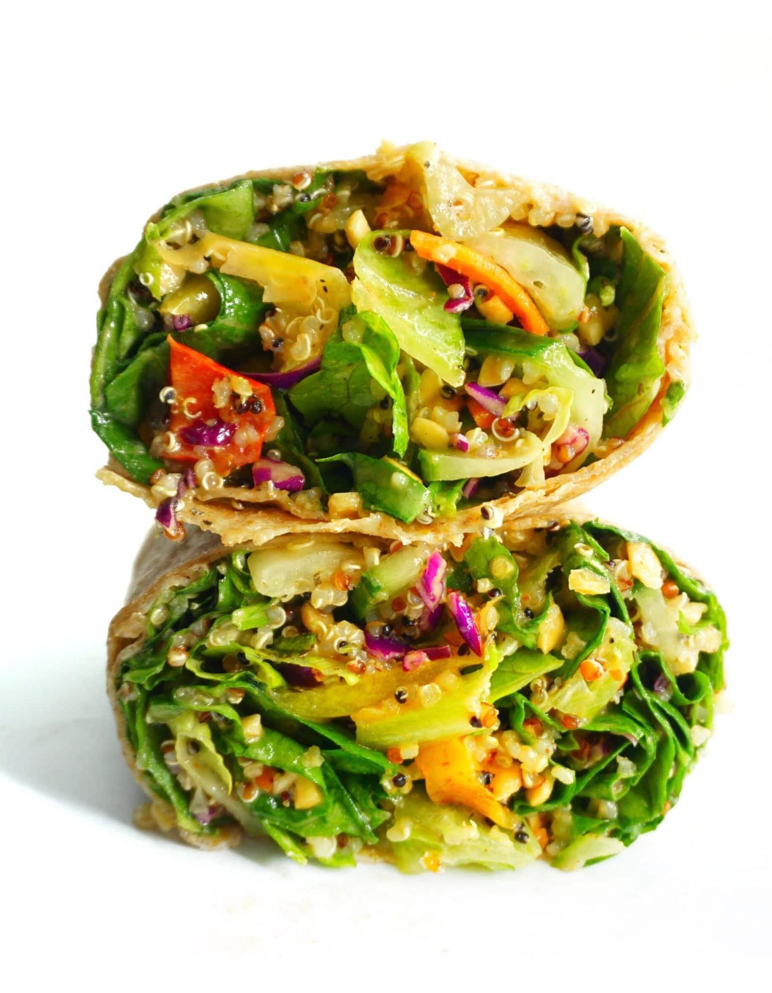 Loaded Veggie Wrap