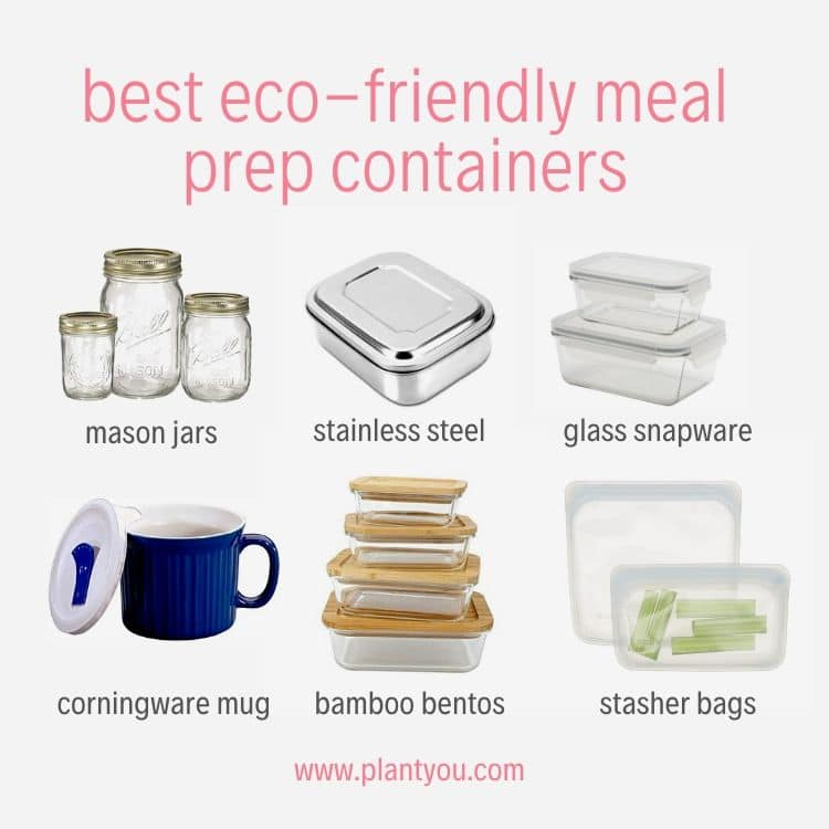 The Best Eco Friendly Meal Prep Containers For 2020 Plant You