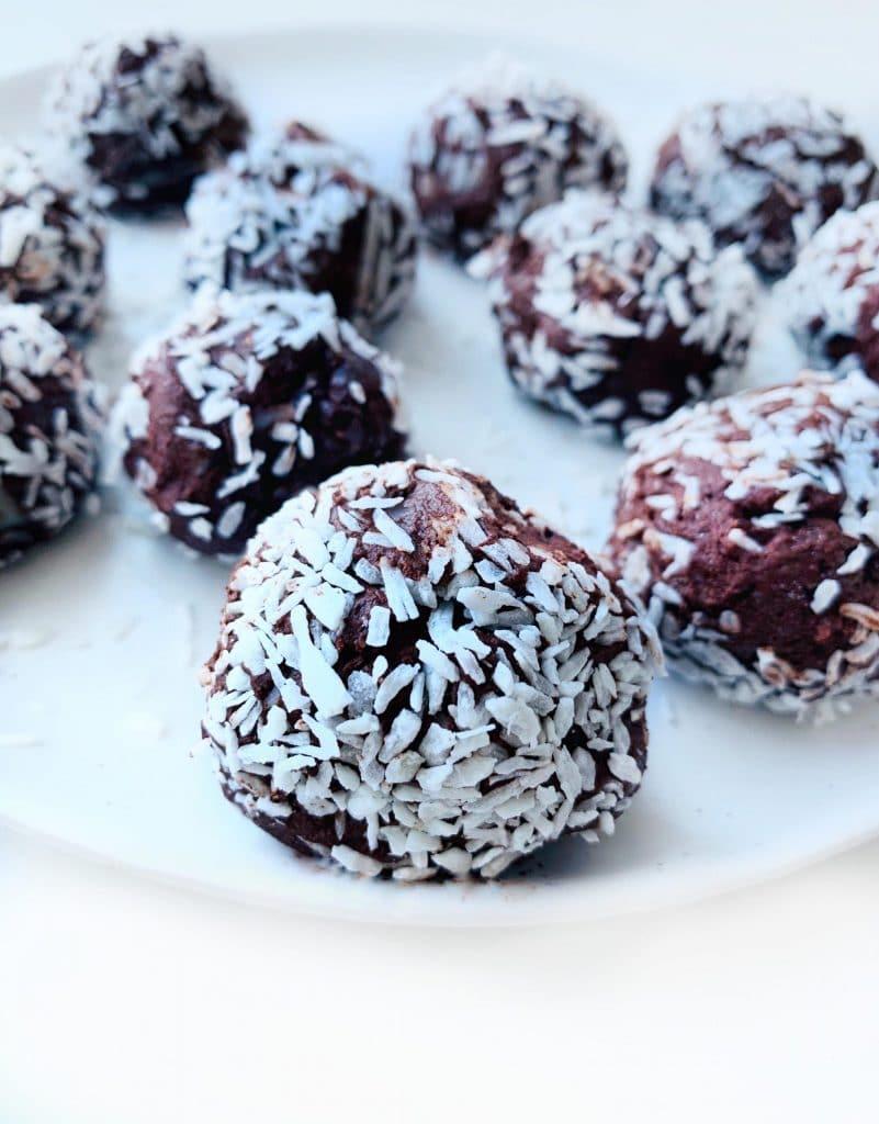Vegan Coconut Truffles