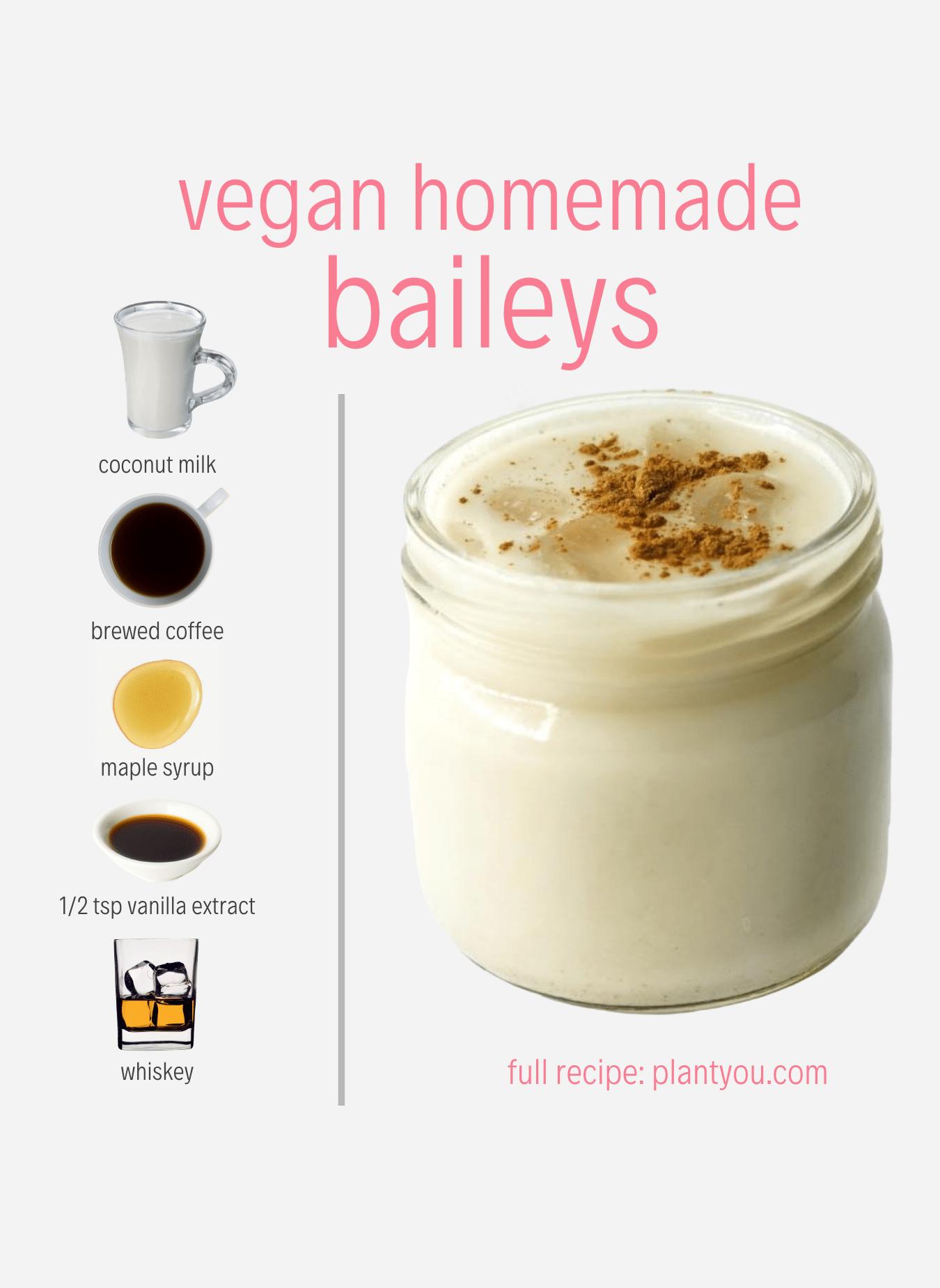 Vegan Homemade Baileys