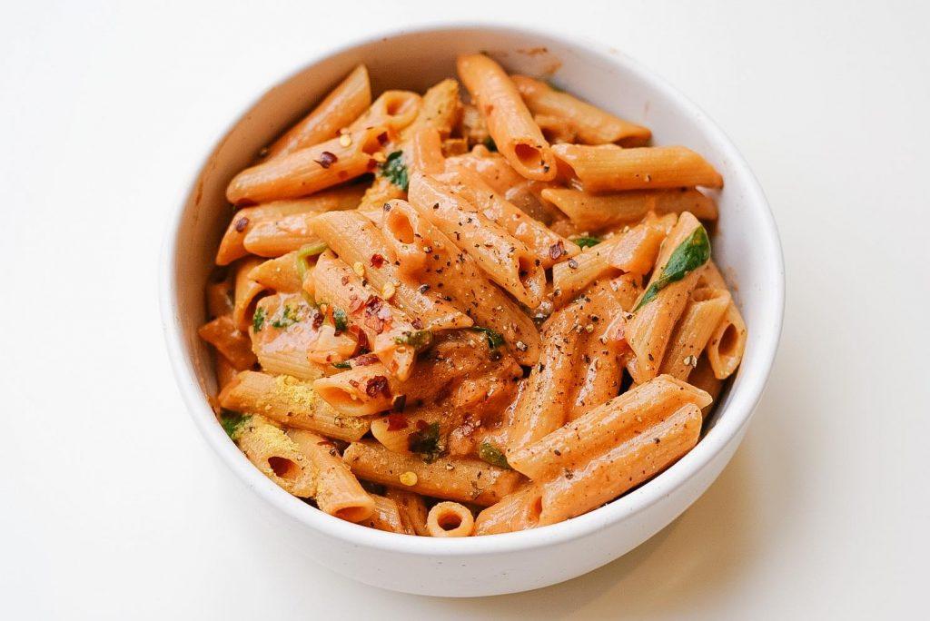gigi hadid's pasta vegan
