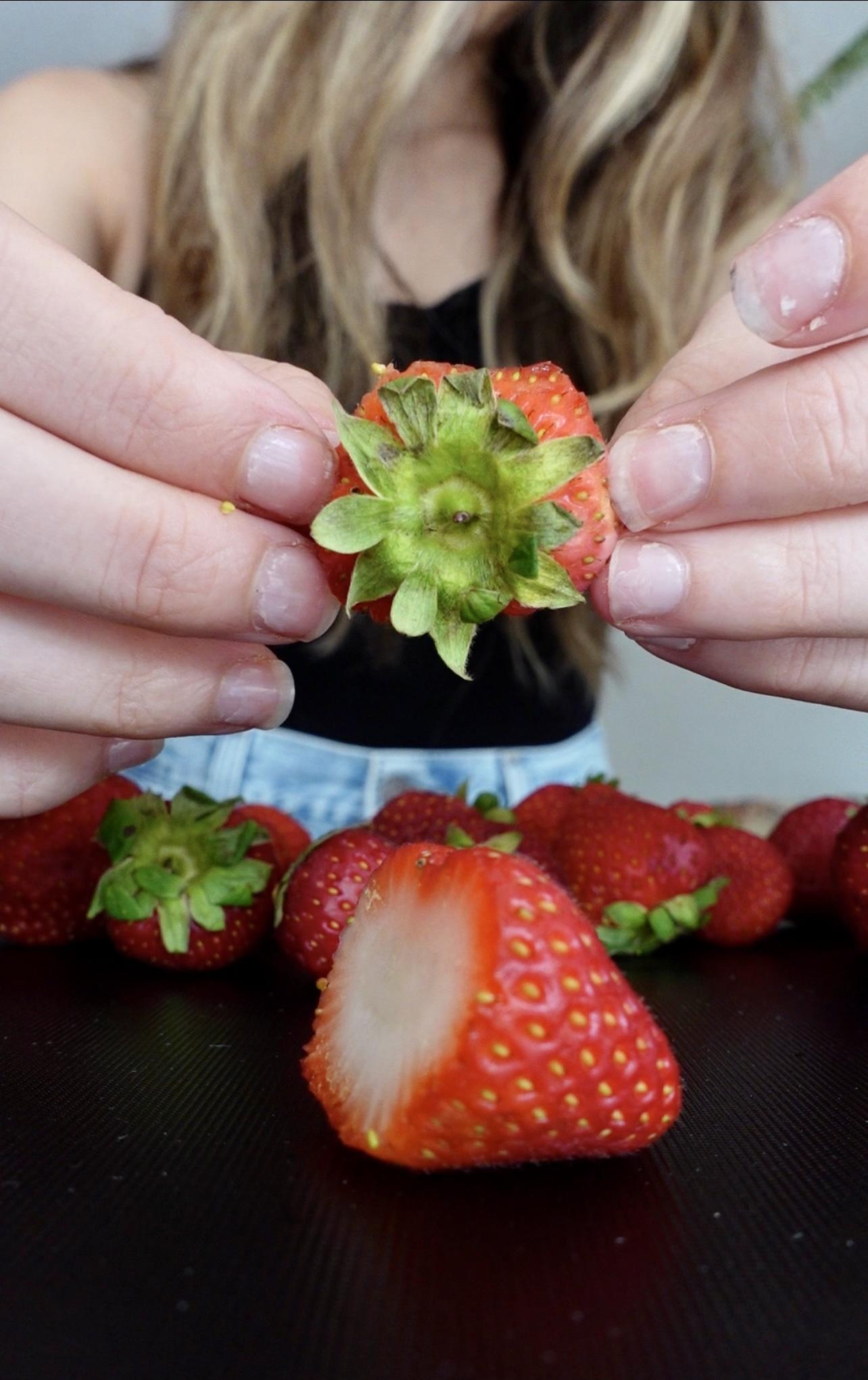 Strawberry Top Vinegar
